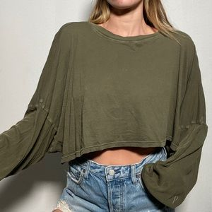 URBAN OUTFITTER Out From Under Vintage Wash Crop